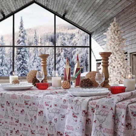 fata de masa Craciun Merry Christmas